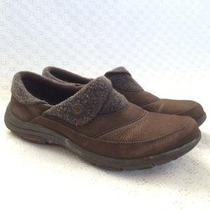 """Merrell """"Bracken"""" Brown Slip-On Loafers"""